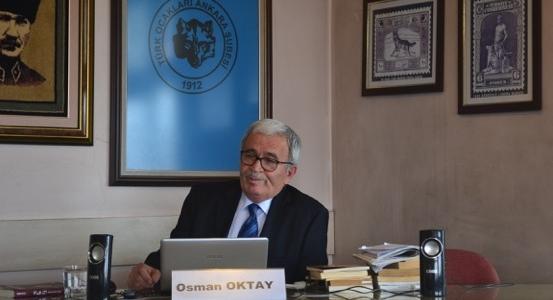 Vefatının 22. Yılında Galip Erdem, Türk Ocakları Ankara Şubesi'nde Anıldı.