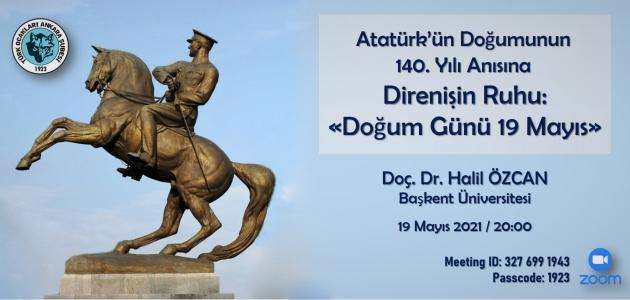 Atatürk'ün Doğumunun 140. Yılı