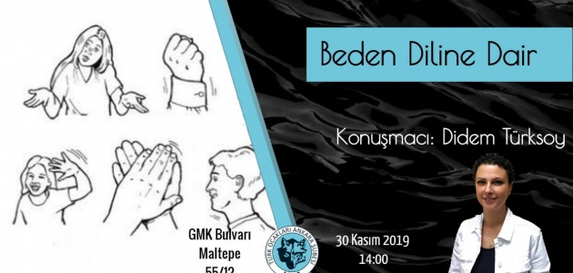 Konferans: Beden Diline Dair / Didem TÜRKSOY